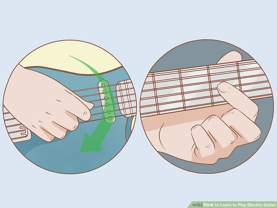 چگونه گیتار الکتریک یاد بگیریم