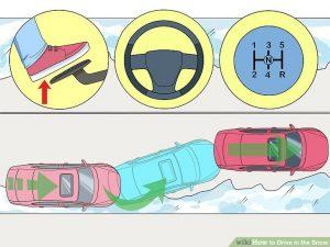 رانندگی در شرایط برفی