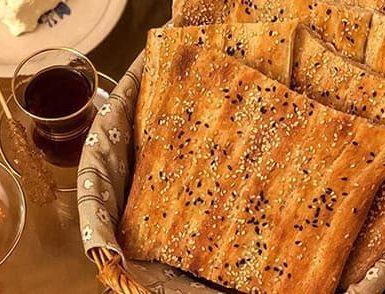 چگونه در خانه نان بربری بپزیم